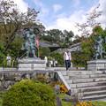 金剛力士像に迎えられて@秩父霊場巡礼の旅2013