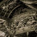 三番札所常泉寺の彫刻@秩父霊場巡礼の旅2013