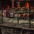 Photos: 列車通過中
