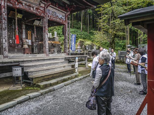 四番札所金昌寺で読経@秩父霊場巡礼の旅2013
