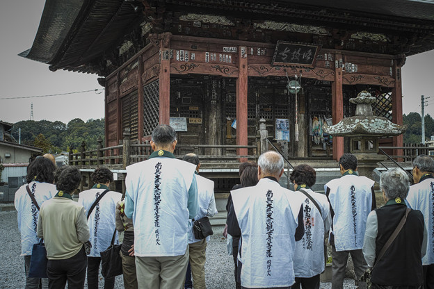 Photos: 五番札所,語歌堂での読経@秩父霊場巡礼の旅2013