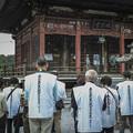 五番札所,語歌堂での読経@秩父霊場巡礼の旅2013