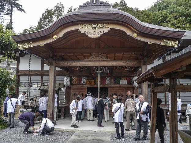 十番札所大慈寺のお堂@秩父霊場巡礼の旅2013