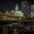 横浜港Queenの塔HDR