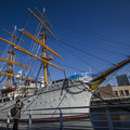 Photos: 昼の帆船日本丸は僕としては珍しいかも