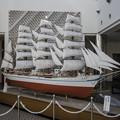 帆船日本丸の模型