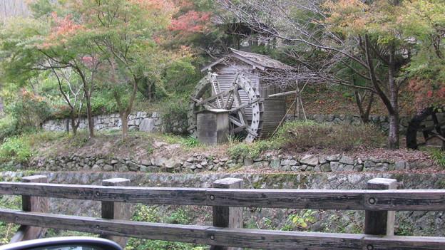 備中松山城の麓の一風景