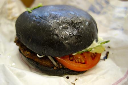 黒バーガー