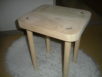 木工作品 スツール8
