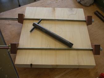 木工教室~スツール(2)