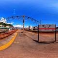 2012年8月12日 JR由比駅 360度パノラマ写真(1) HDR