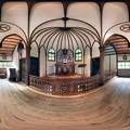 2012年8月28日 犬山市 明治村 大明寺聖パウロ教会堂 内部 360度パノラマ写真 HDR