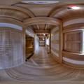 Photos: 2014年4月4日 駿府城坤櫓 内部 360度パノラマ写真(2) HDR