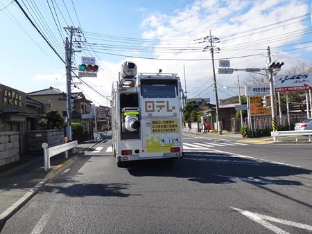 121102 箱根駅伝下見カー