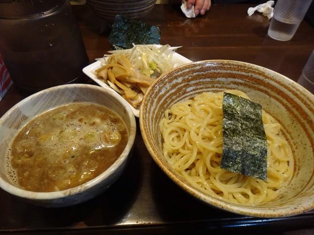 写真: 130929 錦堂 角煮つけ麺全部入り
