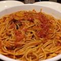 写真: 131103 カプリチョーザ ニンニクとトマトのスパゲッティ