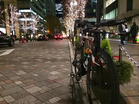 131212 自転車通勤(復路)