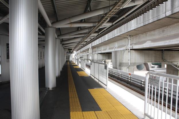 鉄道博物館駅1番線ホーム