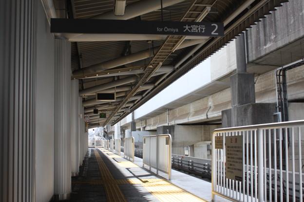 鉄道博物館駅2番線ホーム