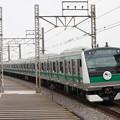 埼京線 E233系7000番台ハエ101編成 デビューヘッドマーク付き (4)