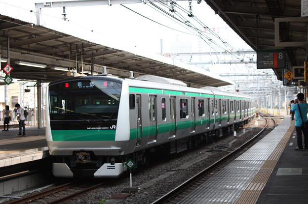 Photos: E233系7000番台ハエ110編成 新津配給 大宮にて