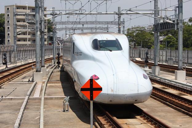 N700系7000番台S19編成 さくら404号 (2)