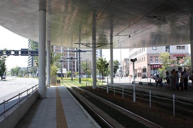 熊本市電 熊本駅前電停