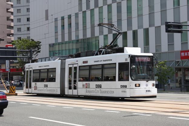 熊本市交通局9700形9705