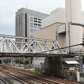 Photos: 撤去作業が始まった東急東横線の架線