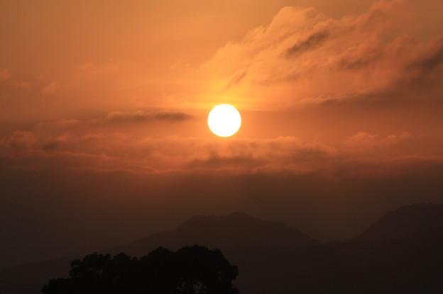 玉名温泉の朝日 (6)