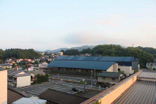 玉名温泉の朝 風景