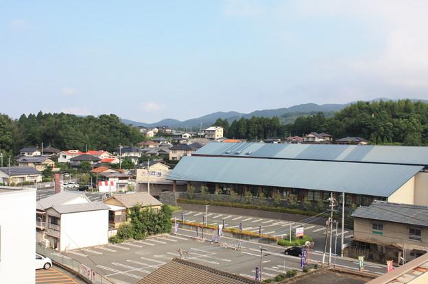 玉名温泉の昼 風景