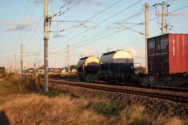 2094レ コンテナ列車 連続写真 (56)