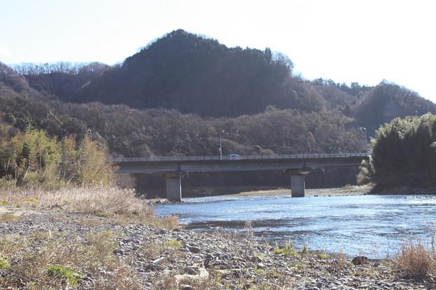久慈川の河川敷から