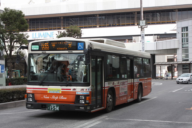 東武バス 9883号車