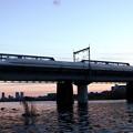 東海道新幹線・多摩川橋梁