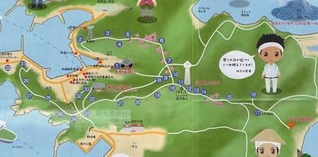 島野浦巡礼マップ50