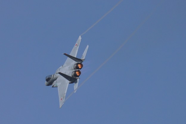 F-15J 旋回