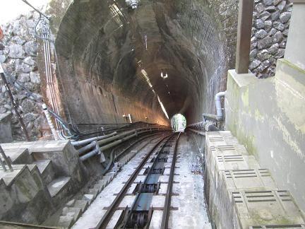 高尾山駅から下山します^^