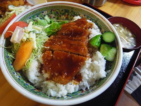 和可山食堂 ソースカツ丼 汁付き よくばり