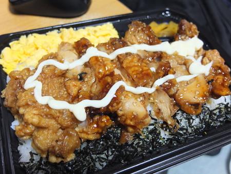 セブンイレブン 甘辛タレの鶏唐揚げ弁当