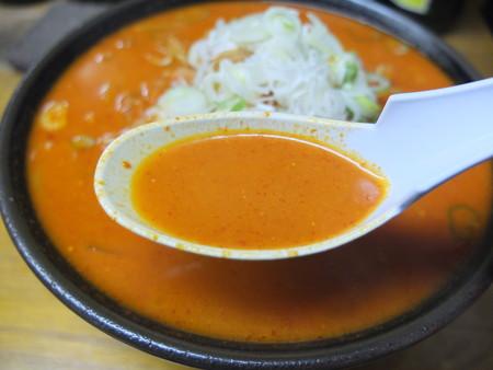 ラーメン翔 激辛ラーメン50丁目 味噌味&太麺 スープアップ