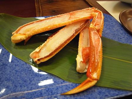 割烹かまた 焼き蟹