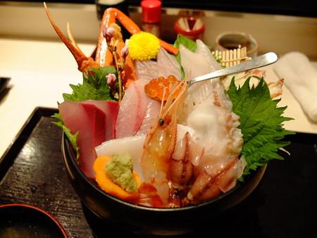海の幸味どころ 軍ちゃん 高田店 海鮮丼(上) アップ