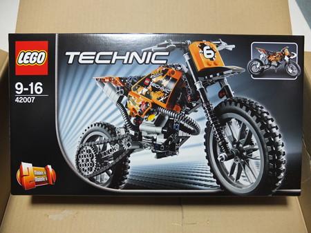 LEGO TECHNIC 42007 モトクロスバイク パッケージ