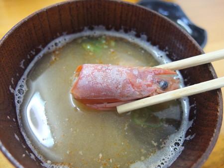 市場のすし屋 海鮮丼 味噌汁アップ