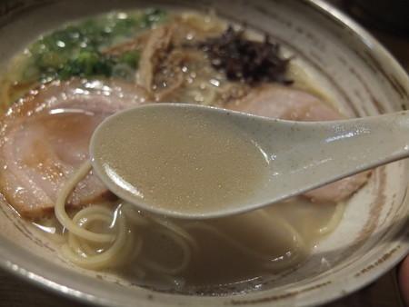 讃岐うどん房 鶴越 煮干し豚骨らーめん(期間&数量限定) スープアップ
