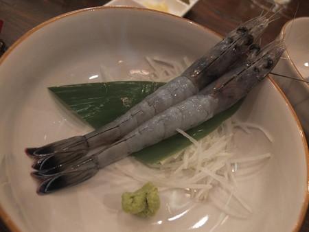 浜焼太郎 上越高田店 天使のエビの刺身 ¥548