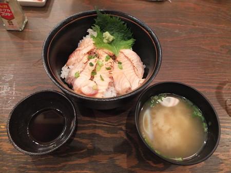浜焼太郎 上越高田店 あぶりサーモン丼 ¥827