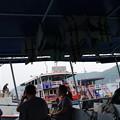 Photos: 大きなボートで帰ります